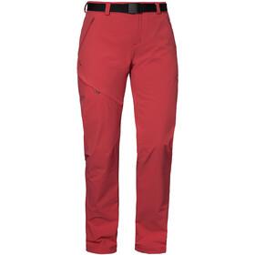 Schöffel Wendelstein Pantaloni Donna, rosso